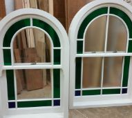 Arched Top Sash Window by Merrin Joinery