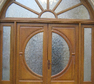 Glazed Church Doors